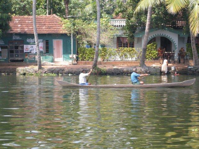 Backwaters du Kerala en Inde