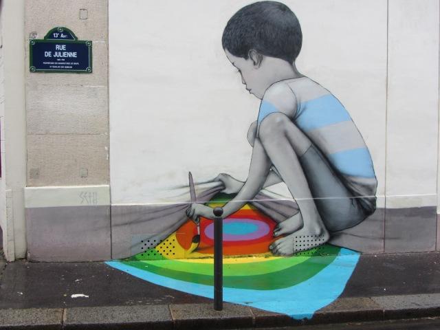 La butte aux Cailles à Paris