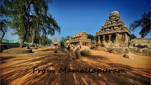 Fin du voyage en Inde : Mamallapuram