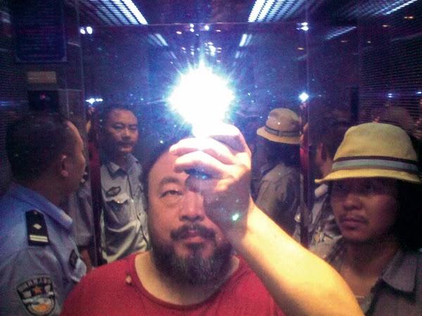 Ai Weiwei pour la liberté de la presse de Reporters sans Frontiéres