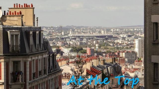 Butte de Montmartre à Paris