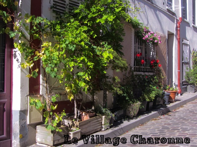 Le village de Charonne à Paris