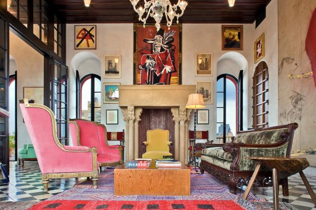 Palazzo Chupi Julian Schnabel