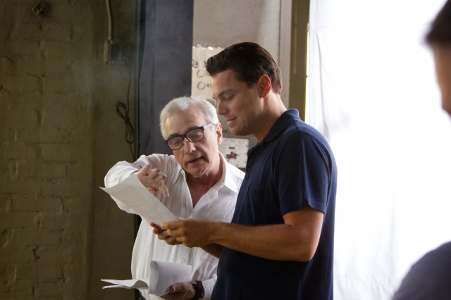 Le Loup de Wall Street Scorsese Dicaprio behind the scene