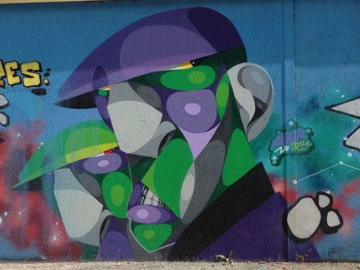 CASERNE NIEL DARWIN STREET ART