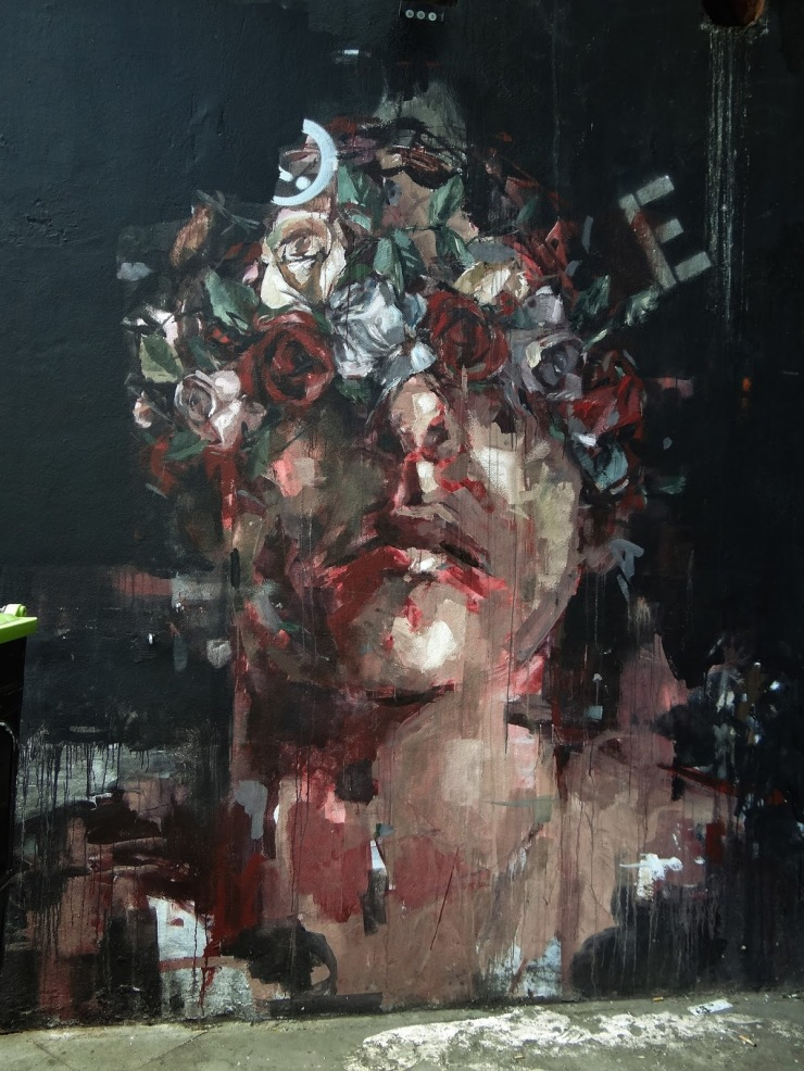 Borondo Londres London  Looking For