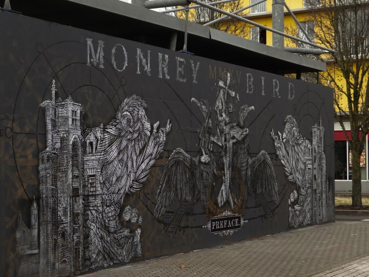 M.U.R Bordeaux Monkey Bird Crew