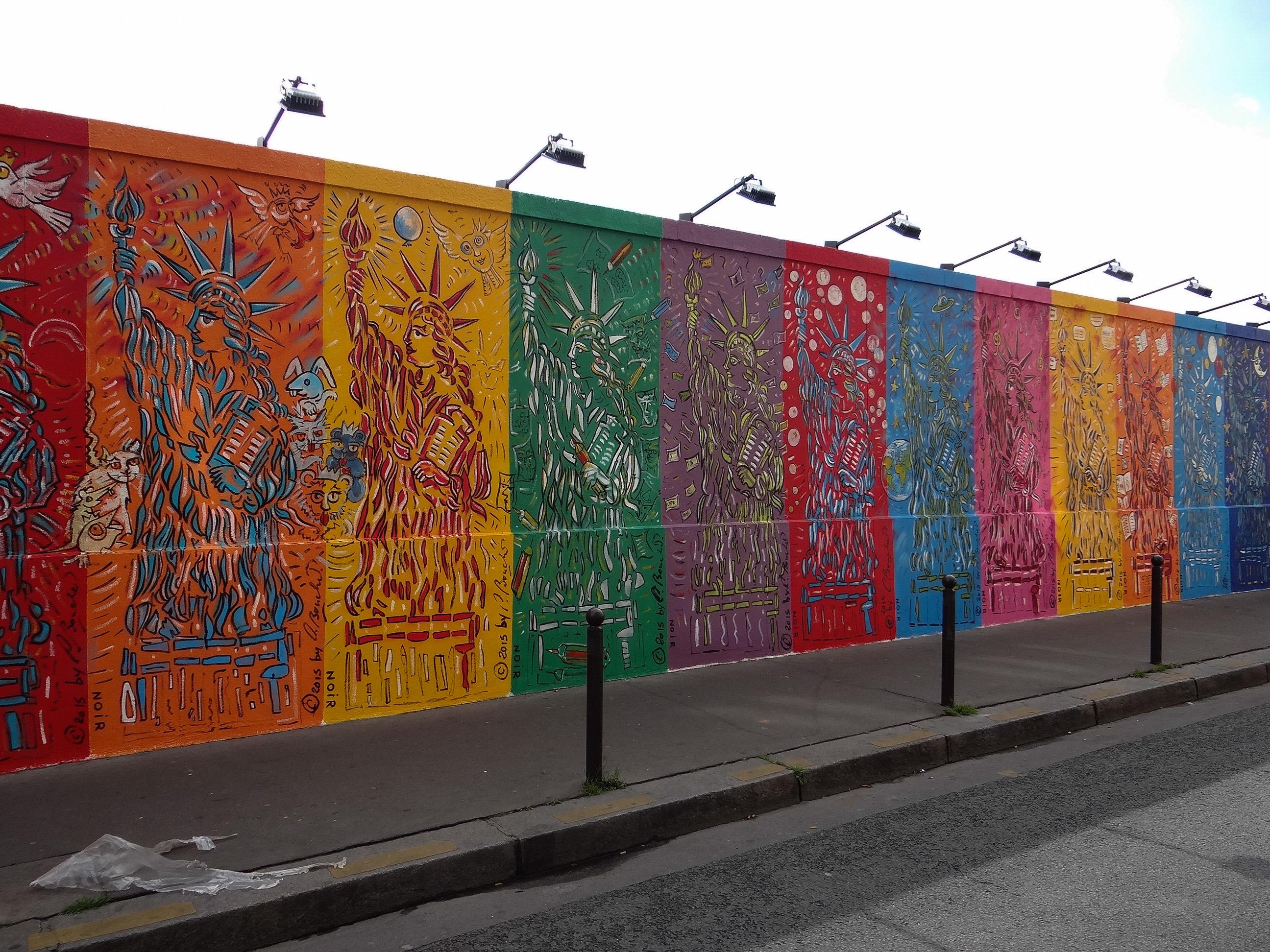Art et libert du mur de berlin au street art art for Art et artiste