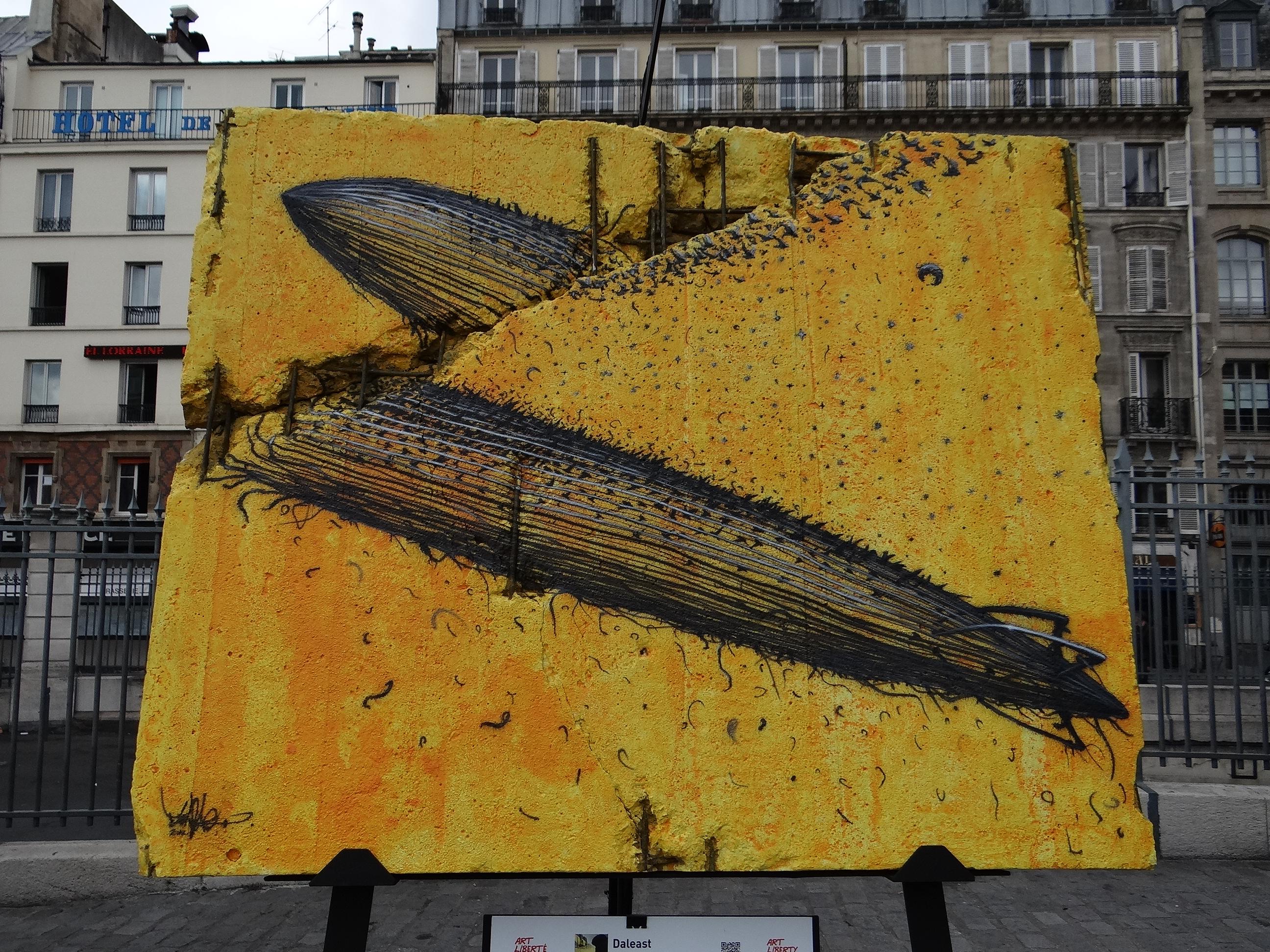 Bien-aimé Art et Liberté, du Mur de Berlin au Street Art – Art & Daily Fix IM43