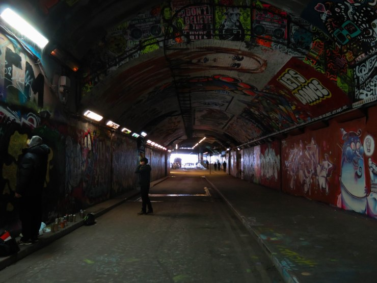 BANSKY TUNNEL LEAKE STREET